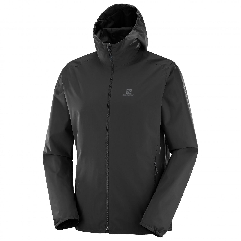 hot sale online 00536 5ebab Salomon - Essential Jacket - Waterproof jacket - Black   S