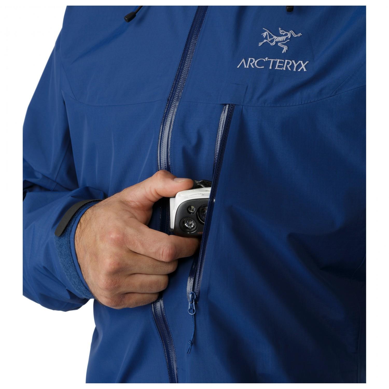 Arc'teryx Alpha SL Jacket Regnjakke Herre køb online