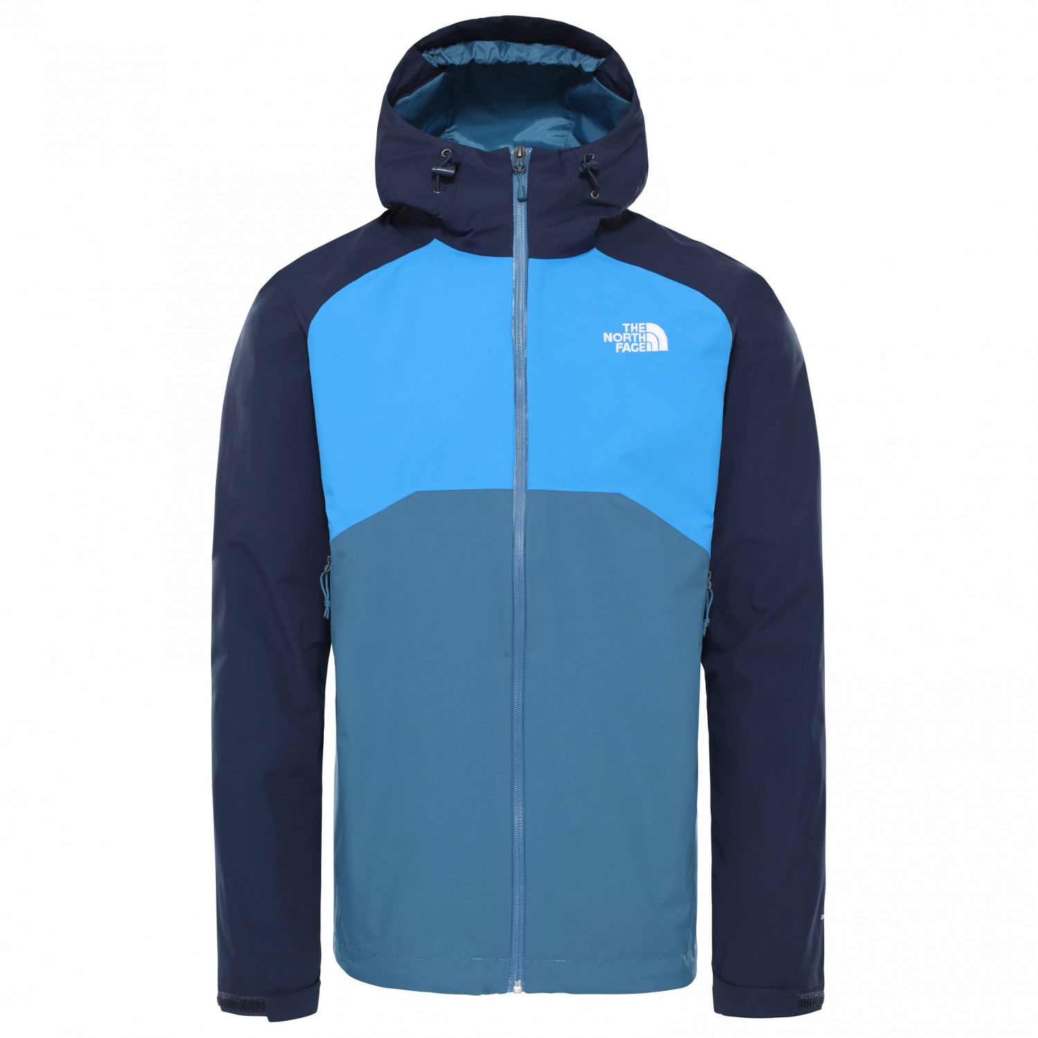 The North Face Stratos Jacket Hardshelljacke Mallard Blue Urban Navy Clear Lake Blue | S