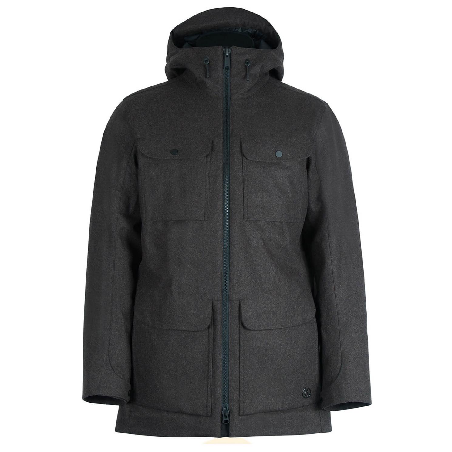 Alchemy equipment insulated tech wool parka manteau homme achat en ligne - Achat de manteau en ligne ...