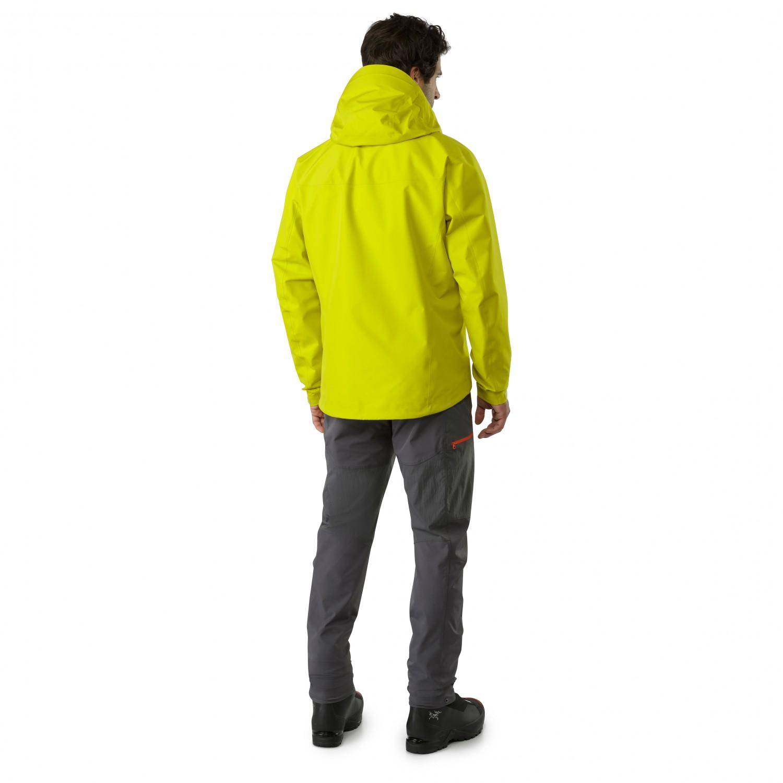 Arc'teryx Alpha FL Jacket Regenjacke Labyrinth | S