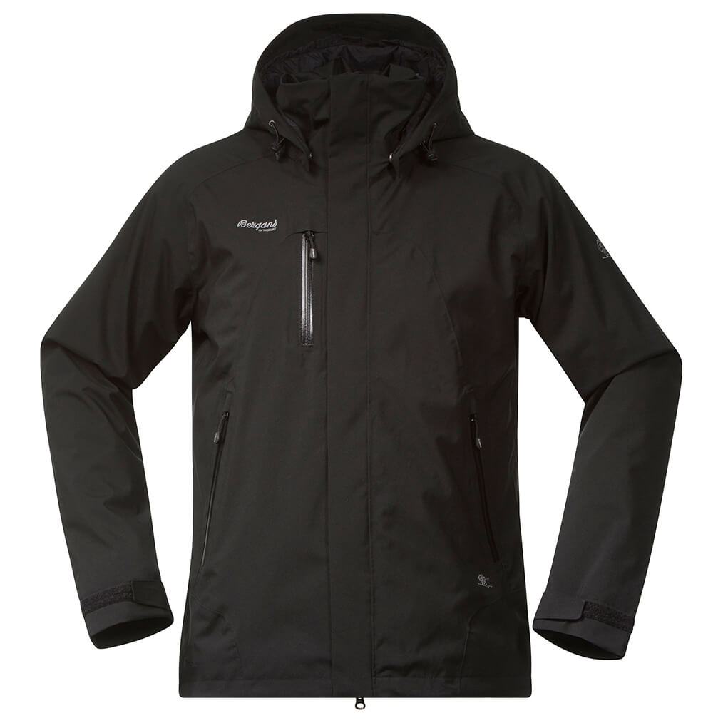 Bergans Flya Insulated Jacket Regenjacke Black | S