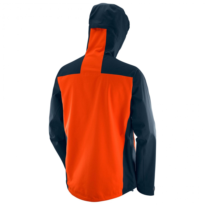 Salomon Nebula Stretch 2.5L Mens Hiking Jacket Orange