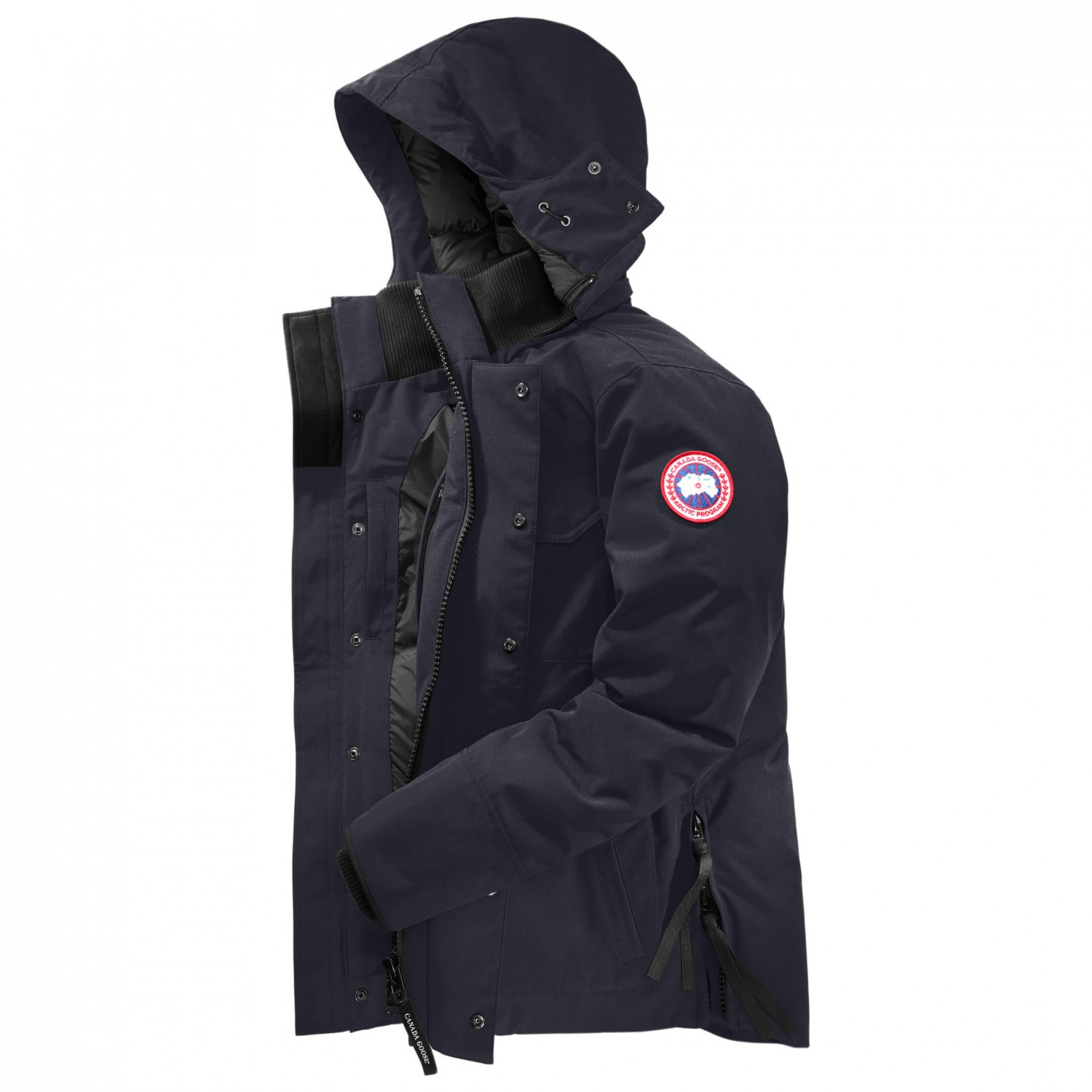 canada goose maitland parka coat men s free uk delivery