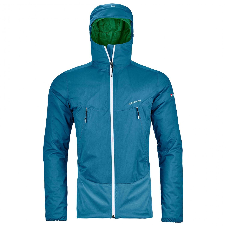 Ortovox Herren Snowboard Jacke 2L Swisswool Leone Jacke