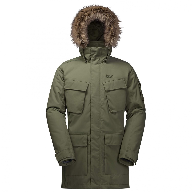 Jack Wolfskin Glacier Canyon Parka Coat Men's | Buy online