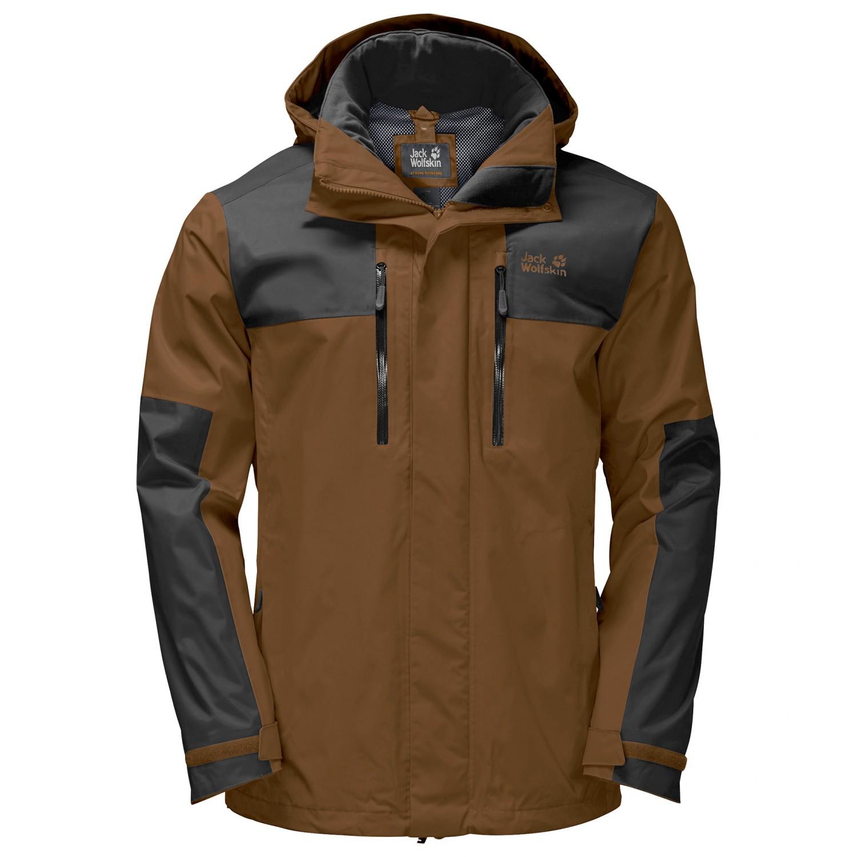 6b3318f52db Jack Wolfskin Jasper Flex - Waterproof Jacket Men's   Free UK ...