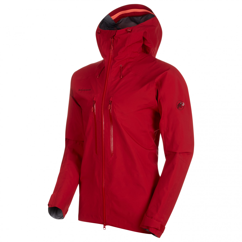 competitive price 22d96 36920 Mammut - Meron Hardshell Hooded Jacket - Hardshelljacke - Wing Teal | S