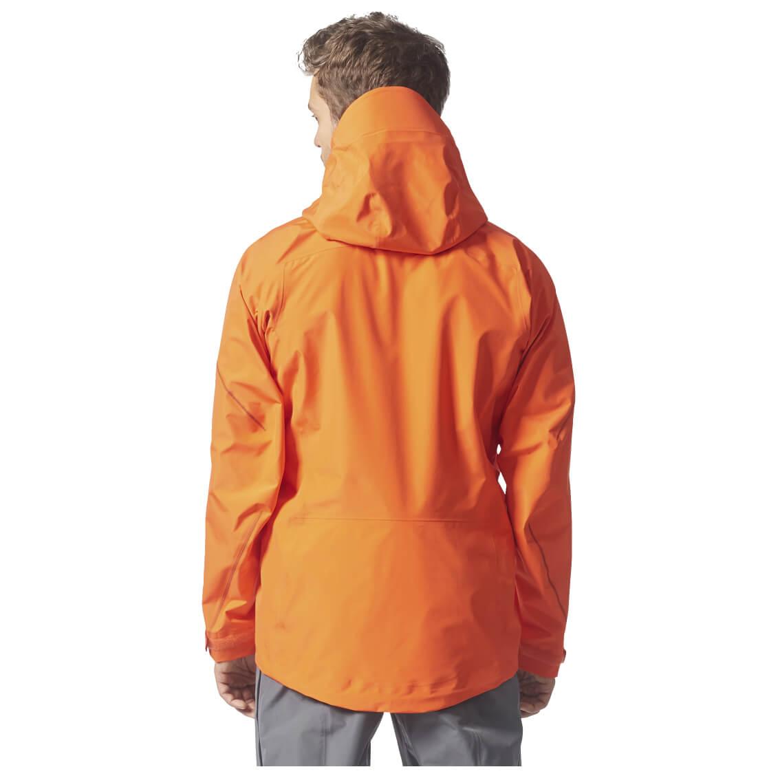 7b1a27529fc Adidas Terrex Techrock GTX Hooded Jacket - Regenjack Heren online ...