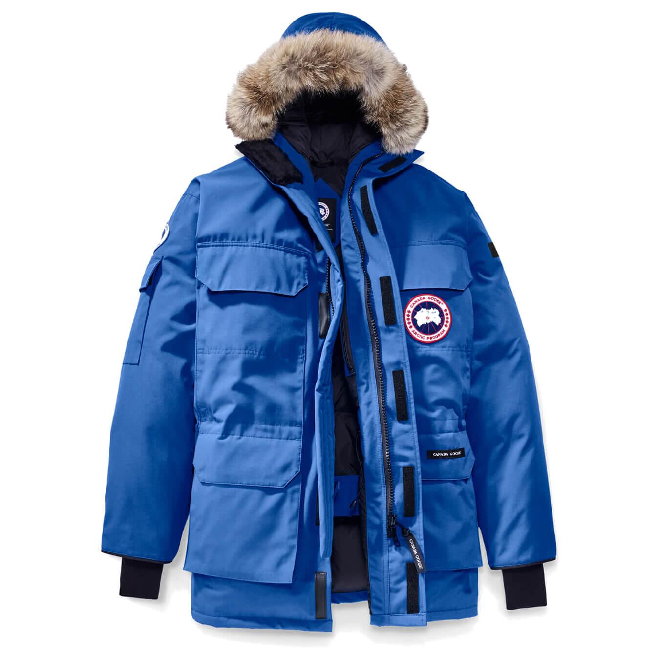 online retailer c70e7 9b6f8 Canada Goose - PBI Expedition Parka - Cappotto - Royal PBI Blue | XS