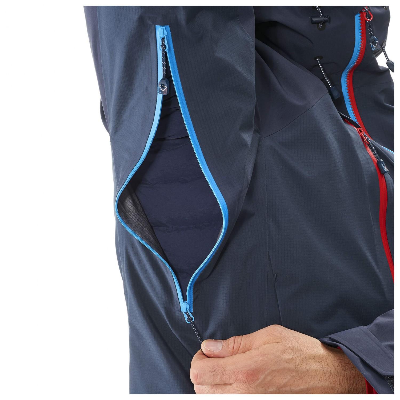 Millet Trilogy V Icon Dual GTX Pro Jacket Regenjacke Rouge Saphir   S
