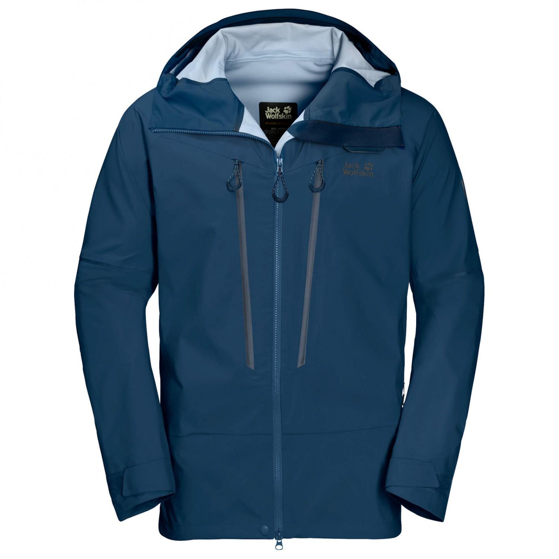 d9adf7e68c6 Jack Wolfskin Exolight Mountain Jacket - Waterproof Jacket Men's ...