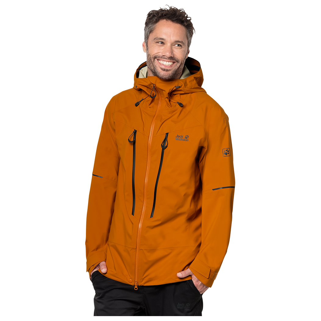 24ace89d7c0 ... Jack Wolfskin - Exolight Mountain Jacket - Waterproof jacket ...