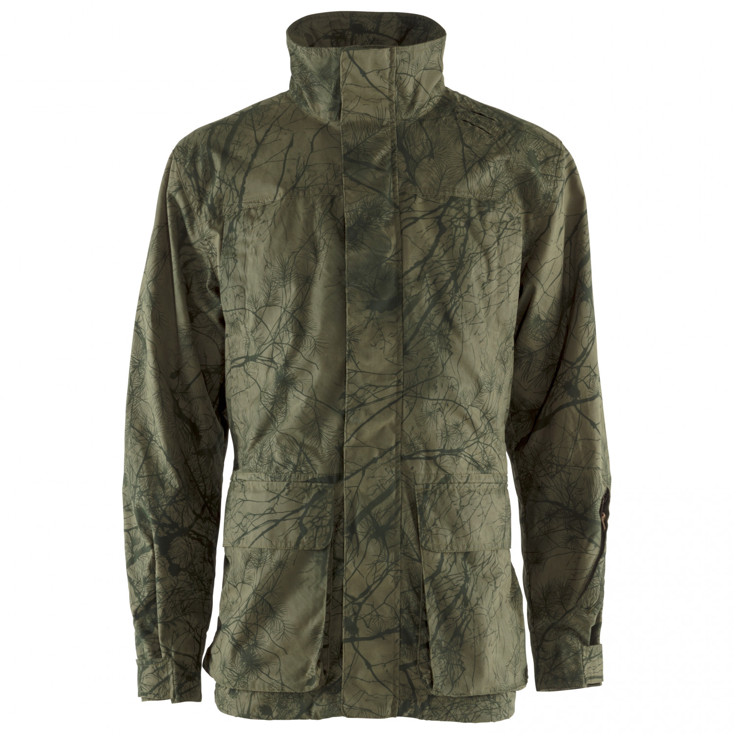 sports shoes b5035 db1f2 Fjällräven - Brenner Pro Jacket - Regenjacke - Green Camo | S