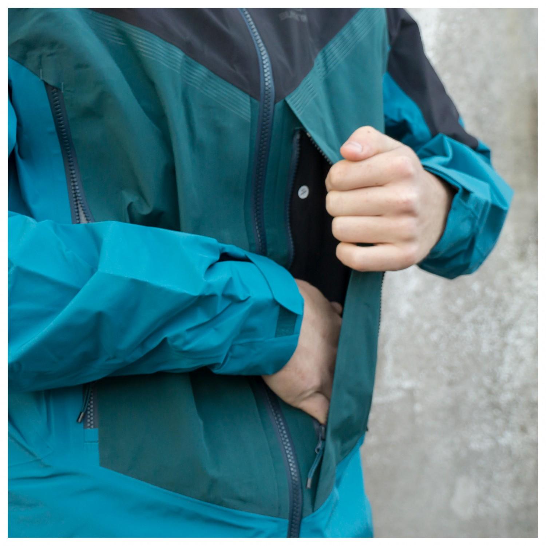 Shell Yak Tex 3l Gore Black Pro Regenjacke Jacket hdrQxtsC