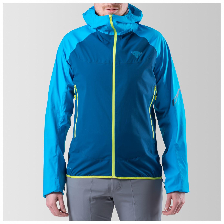 Dynafit TLT 3L Jacket Veste imperméable Methyl Blue 0910 | S