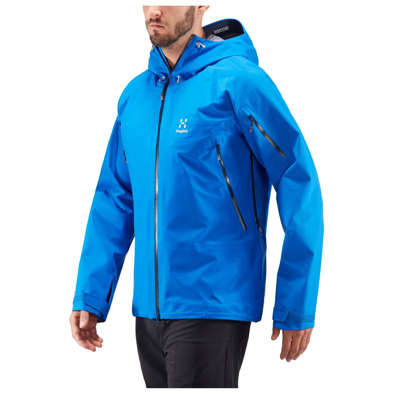 dd1add48b Haglöfs - Roc Spirit Jacket - Waterproof jacket - Storm Blue | XL
