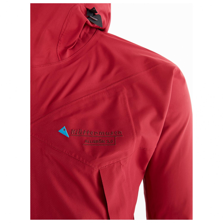 Klättermusen Allgrön 2.0 Jacket Regenjacke Burnt Russet | S