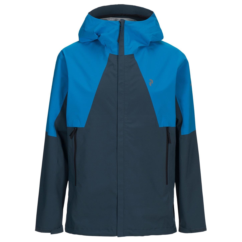 Peak Performance - Daybreak Jacket - Regnjakke - Blue Steel | S