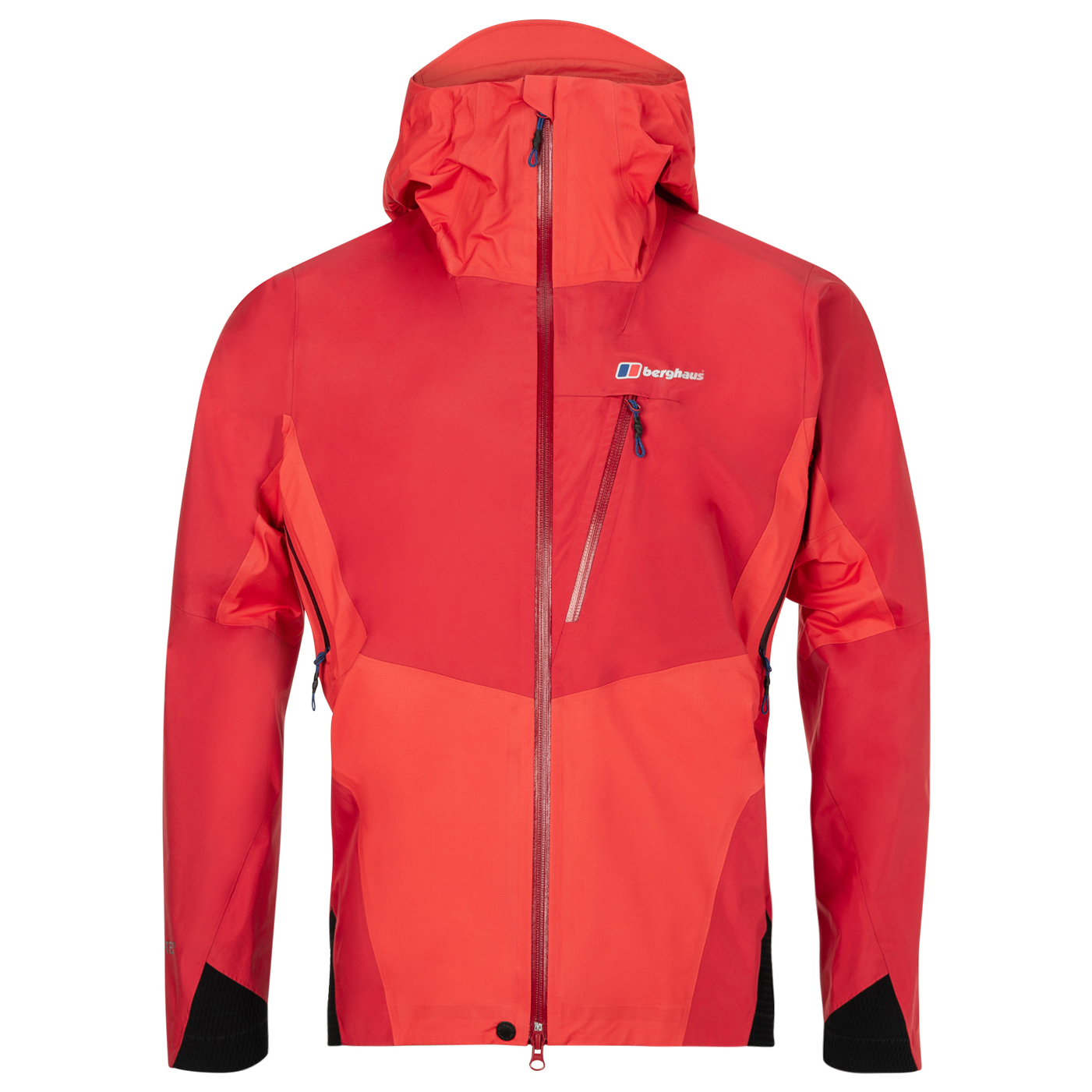 wholesale sales classic style presenting Berghaus - Changtse Shell Jacket - Waterproof jacket - Haute Red / Flame /  Black | S