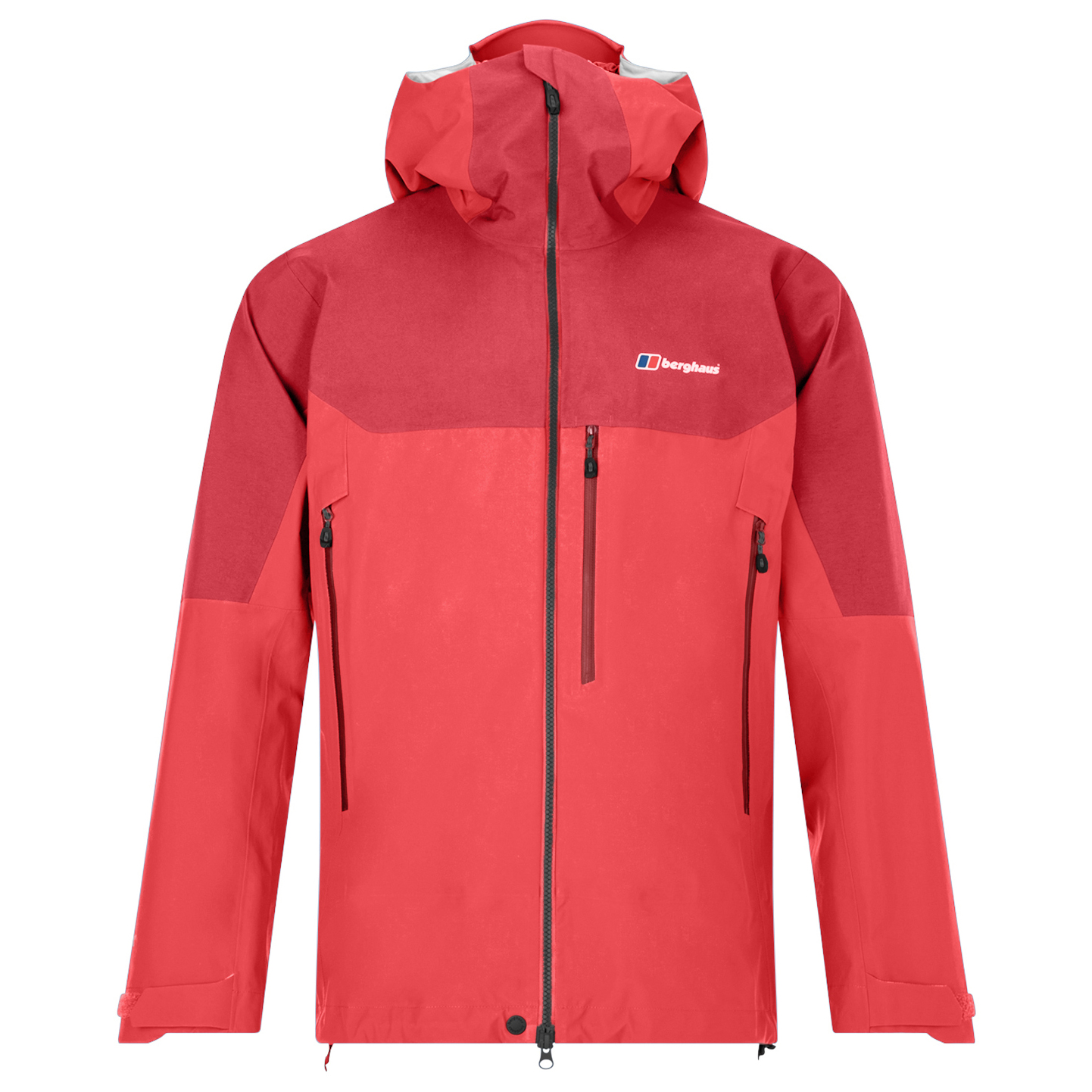 outlet store d28dc f5606 Berghaus - Extrem 5000 PZ Shell Jacket - Waterproof jacket - Flame / Haute  Red | S