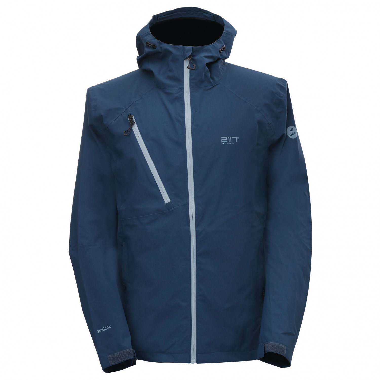 2117 of Sweden Götene Jacket Regenjacke Navy | XXL
