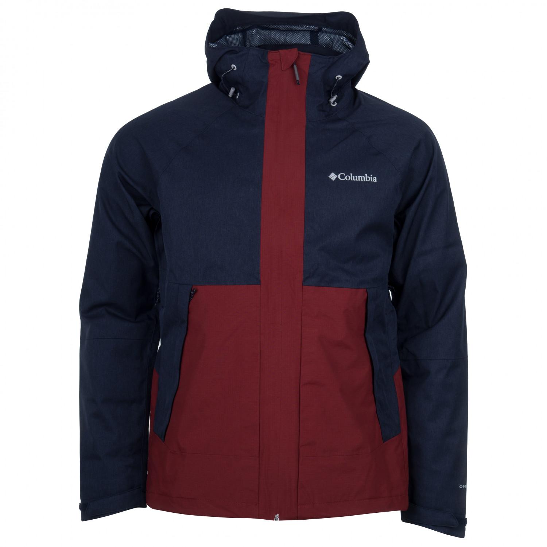online store 8487a 63de2 Columbia - Evolution Valley Jacket - Giacca antipioggia - Black | S