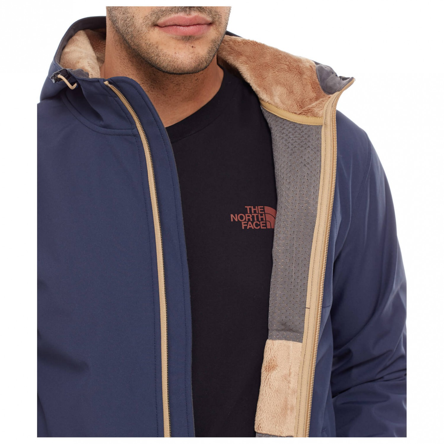 The north face herren jacke durango hoodie