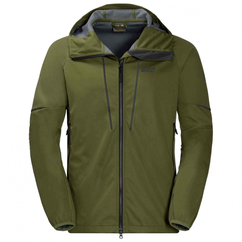 jack wolfskin green valley jacket softshelljacke herren. Black Bedroom Furniture Sets. Home Design Ideas