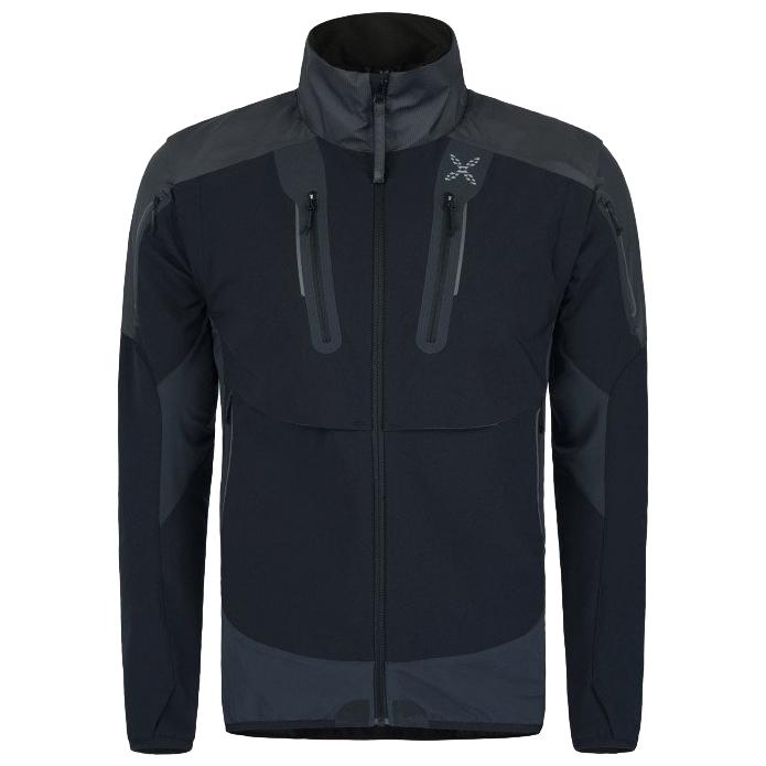 Softshelljacke Brave IiM Jacket Nero Montura WEY2e9DIH