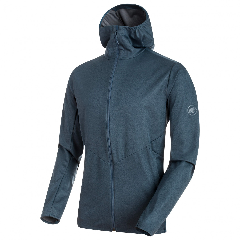 Herbst Schuhe verkauf uk günstigen preis genießen Mammut - Ultimate V Tour SO Hooded Jacket - Softshell jacket - Iguana  Melange | S