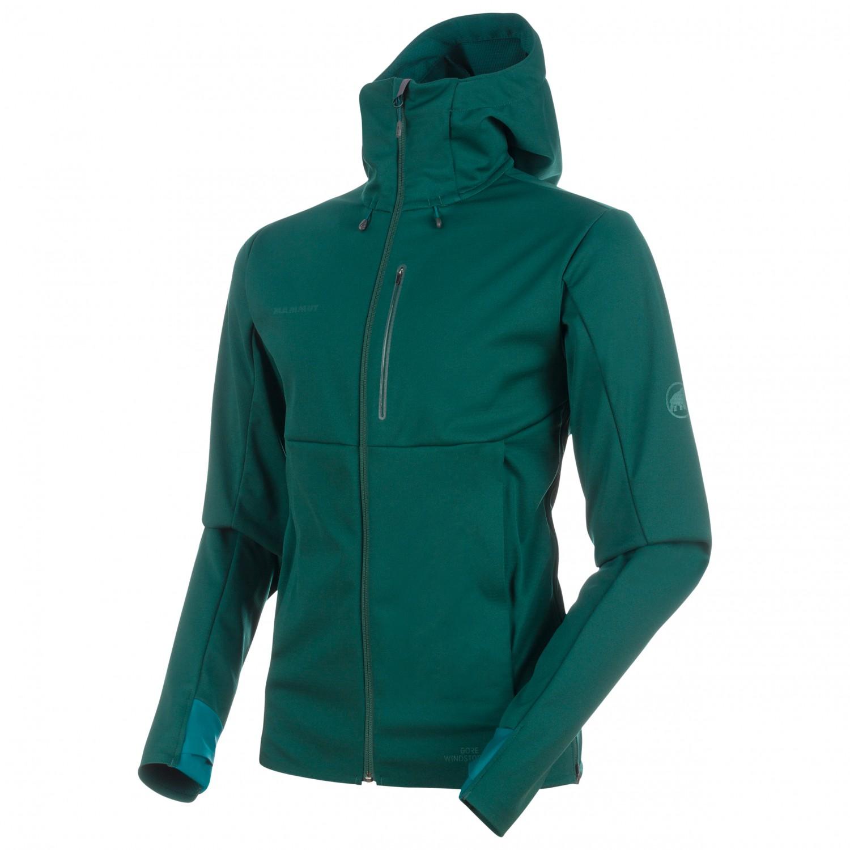 wholesale dealer e80d1 0b81e Mammut Ultimate V So Hooded Jacket - Softshelljacke Herren ...