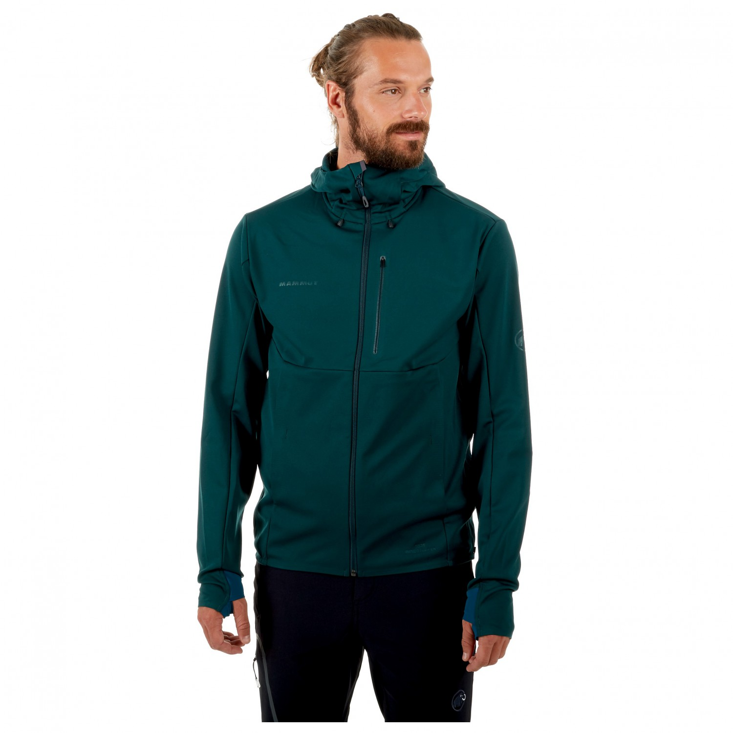 new products c107a 5dd6e Mammut Ultimate V So Hooded Jacket - Softshell Jacket Men's ...