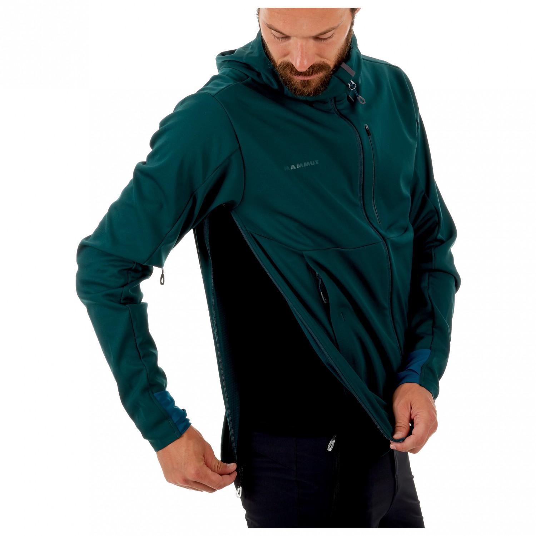d9330439bb0f ... Mammut - Ultimate V So Hooded Jacket - Softshell jacket ...