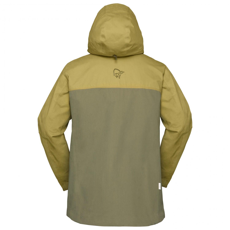 Norrøna Svalbard Cotton Jacket Fritidsjacka Olive Drab | S