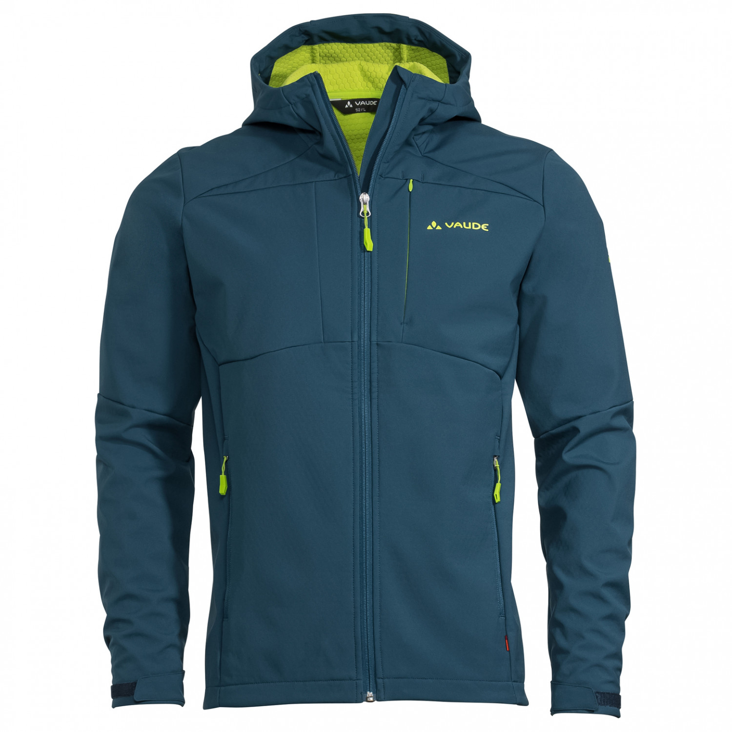 finest selection dd3ed 3f673 Vaude - Miskanti Softshell Jacket II - Softshelljacke - Baltic Sea | XXL