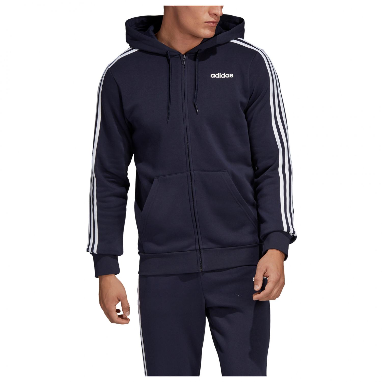 Essentials 3 Stripes Tricot Track Jacket Dark Blue S,M,L,XL