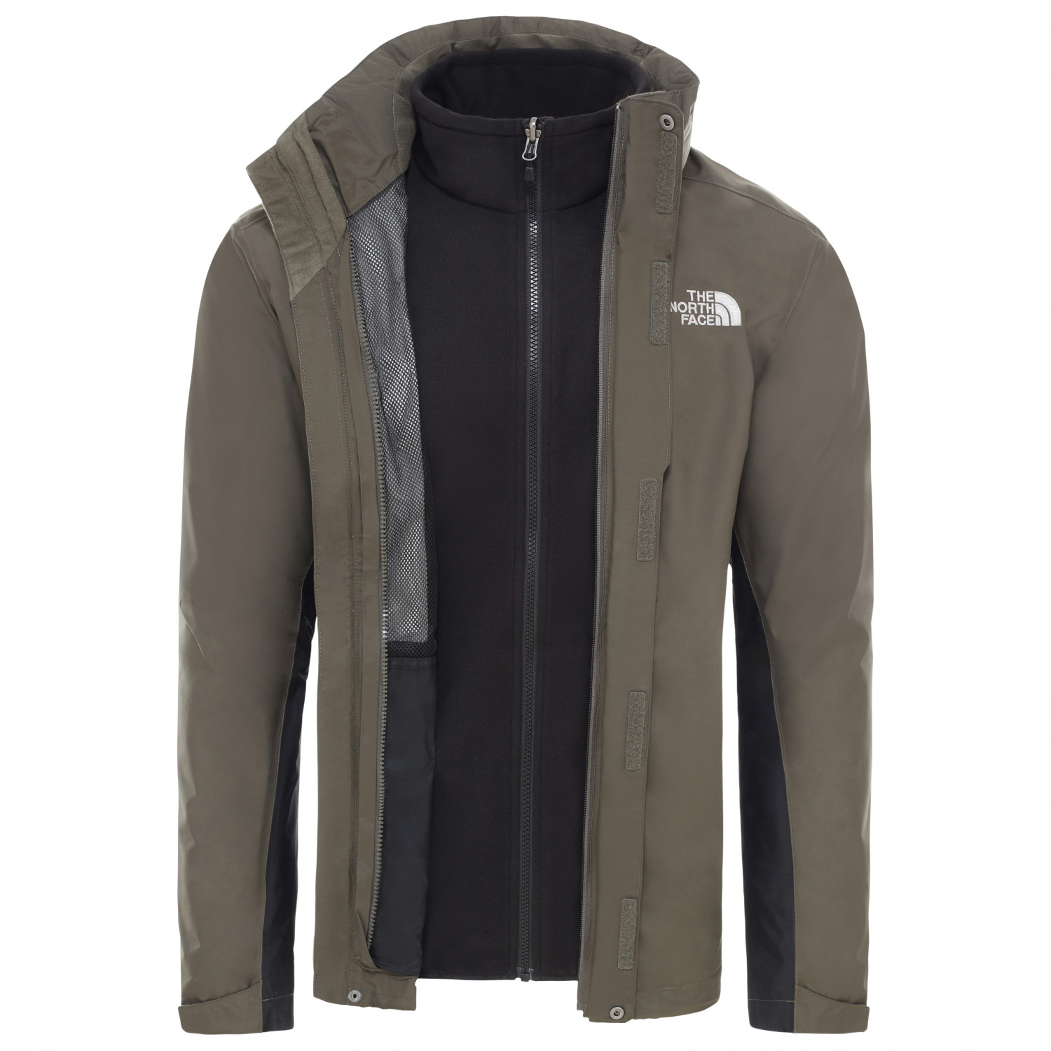 separation shoes aadd8 41715 The North Face - Evolution II Triclimate - Doppeljacke - New Taupe Green /  TNF Black | XS