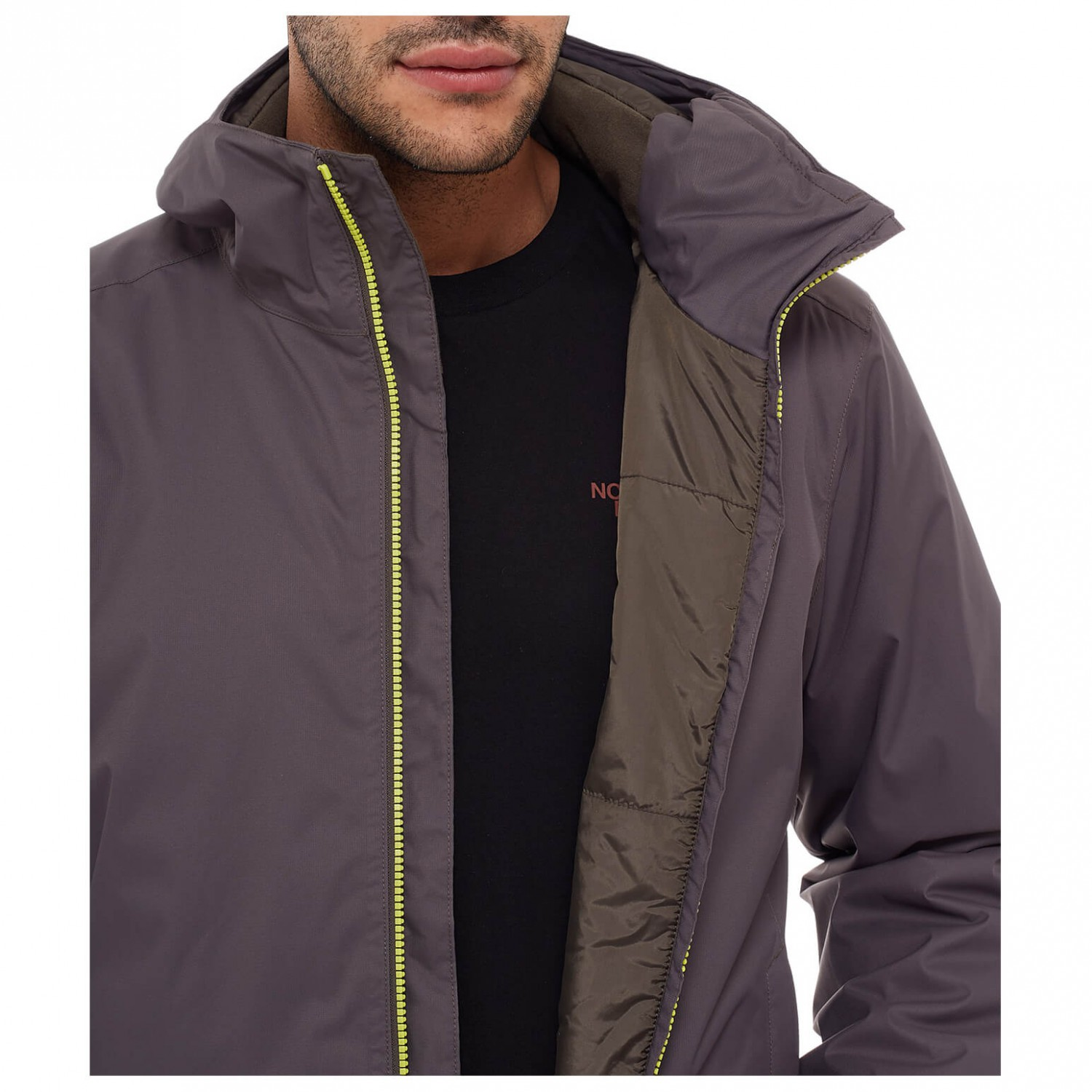 the north face quest insulated jacket winterjacke herren online kaufen. Black Bedroom Furniture Sets. Home Design Ideas