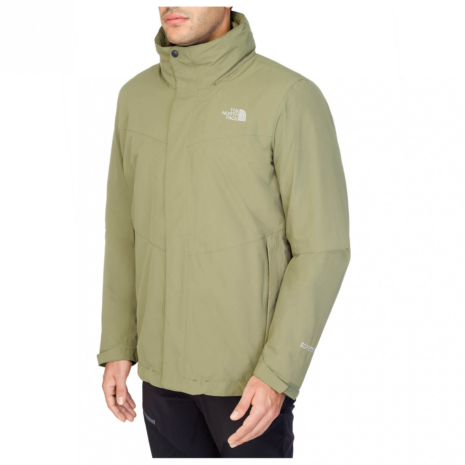 a1128f7e6 the north face all terrain triclimate jacket gore tex ups