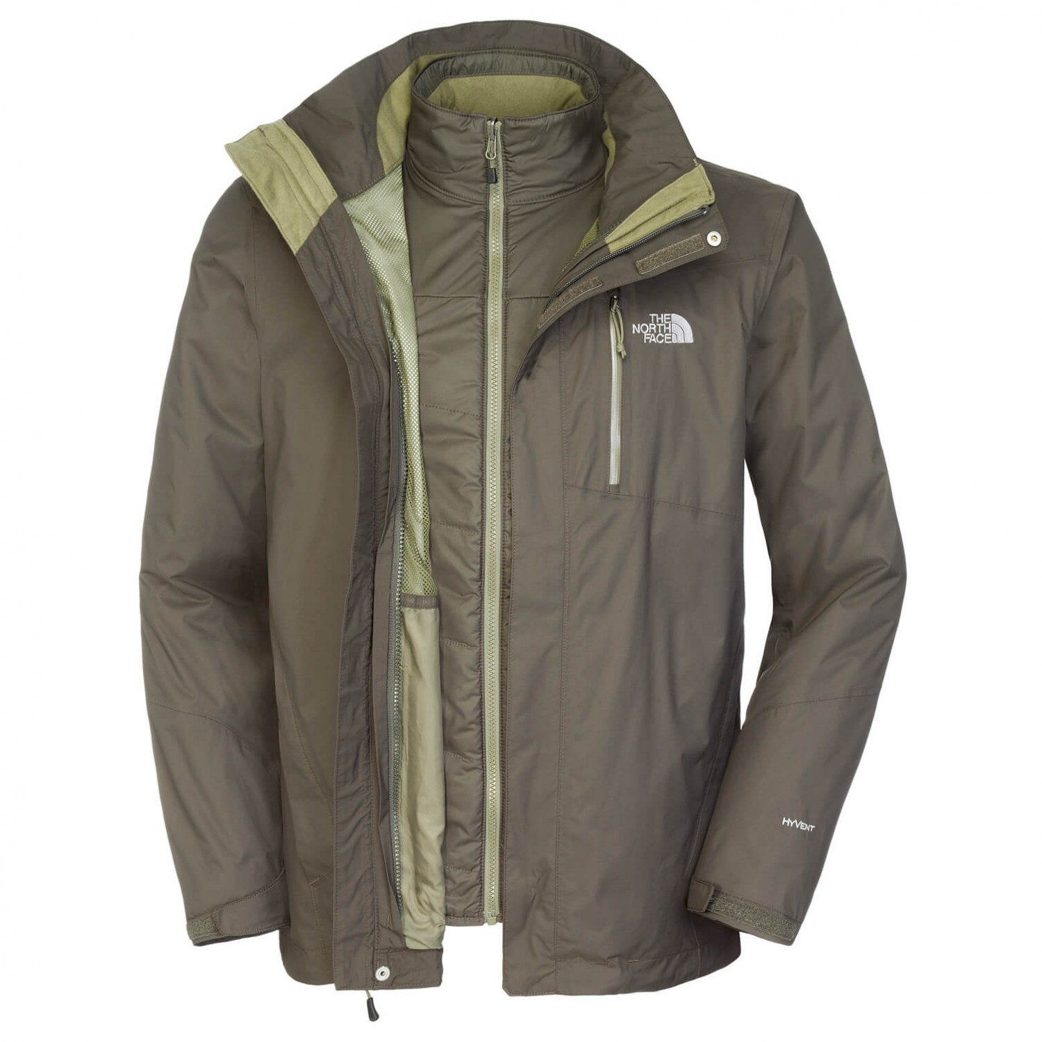 the north face solaris triclimate jacket 3 in 1 jacket. Black Bedroom Furniture Sets. Home Design Ideas