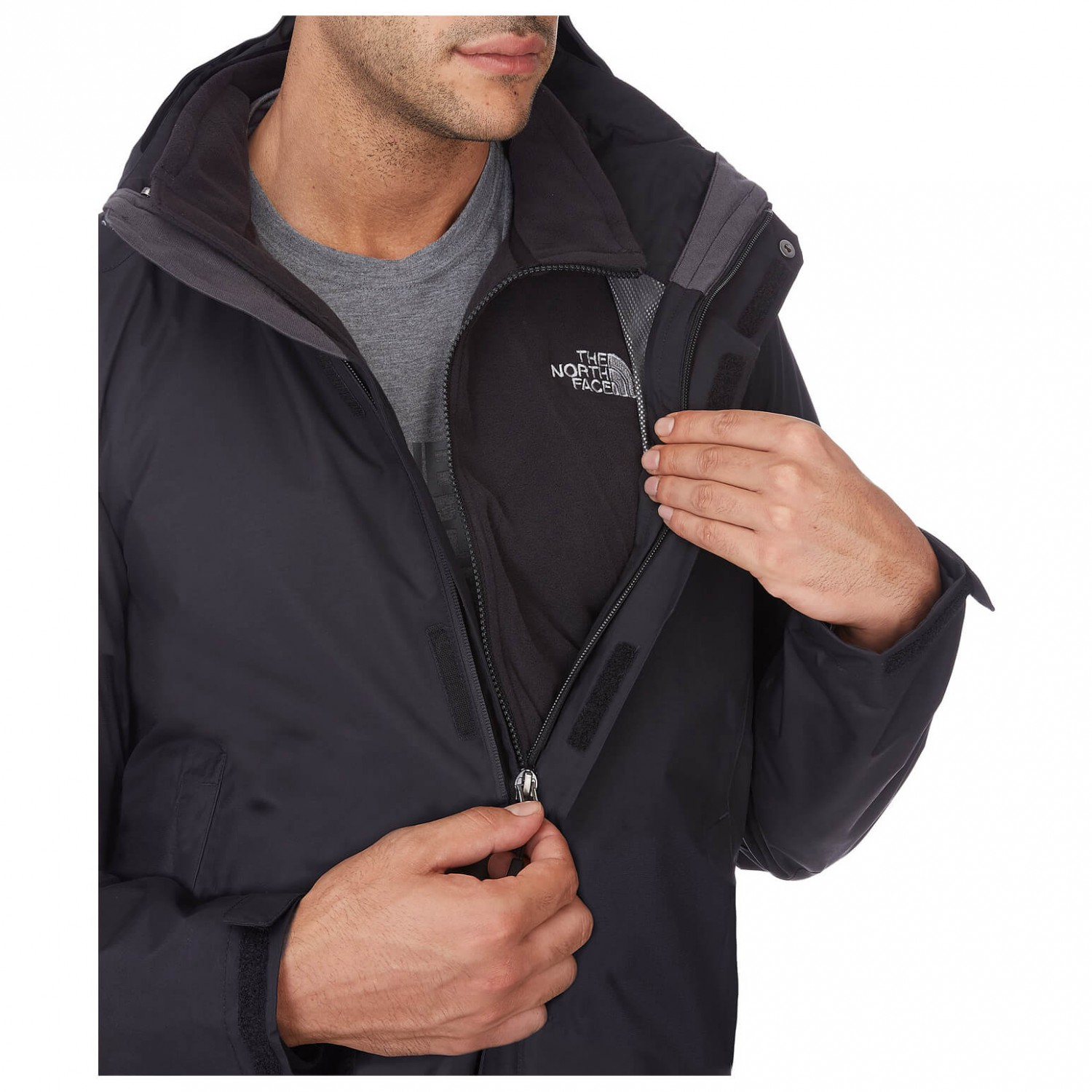 new styles b8168 3e643 The North Face - Evolution II Triclimate Jacket - Doppeljacke - TNF Black |  S