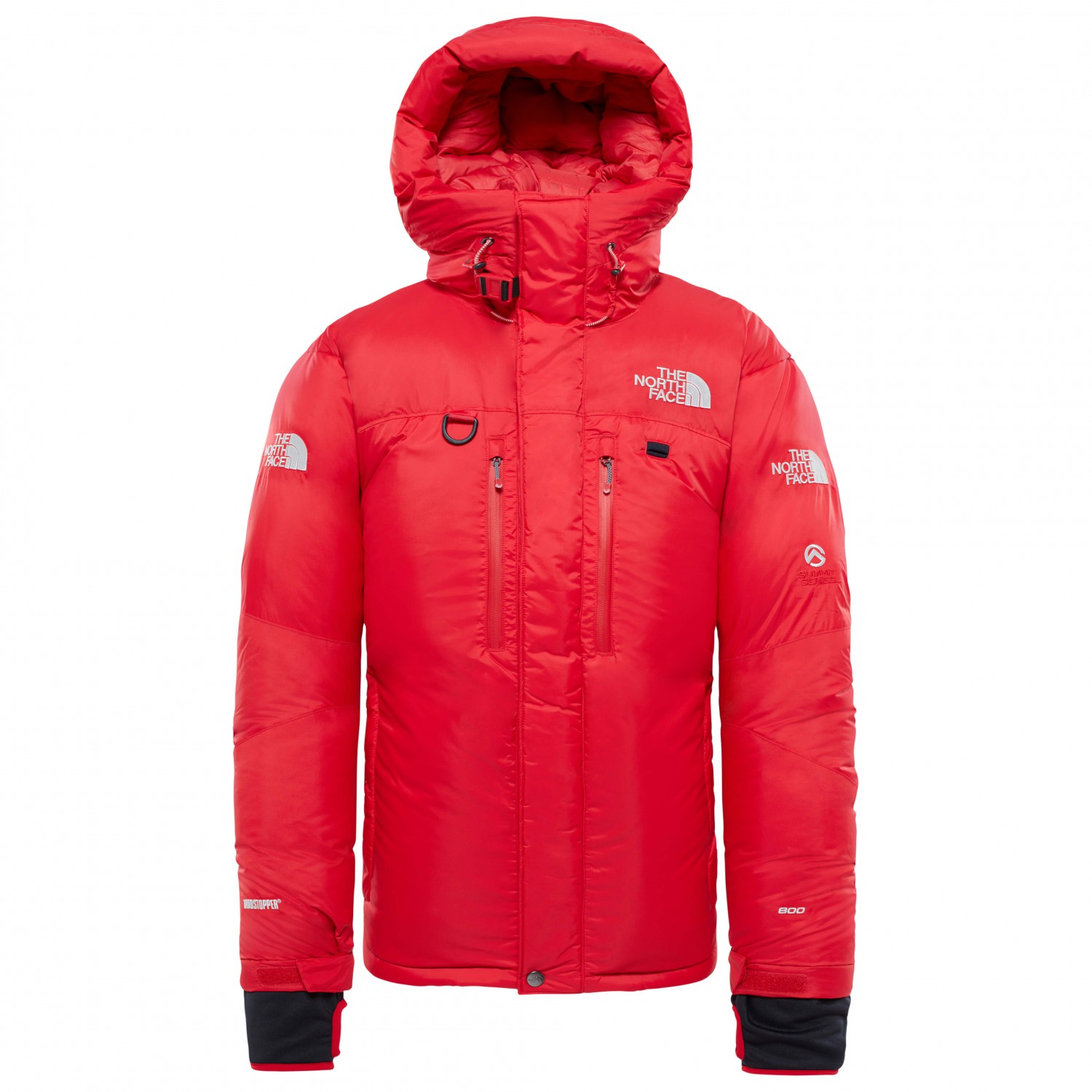 first rate 78218 9d01e The North Face - Himalayan Parka - Daunenjacke - TNF Red / TNF Black | S