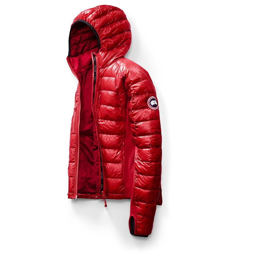 11e0e450ac2 Canada Goose - Hybridge Lite Hoody - Winter jacket - Red | S