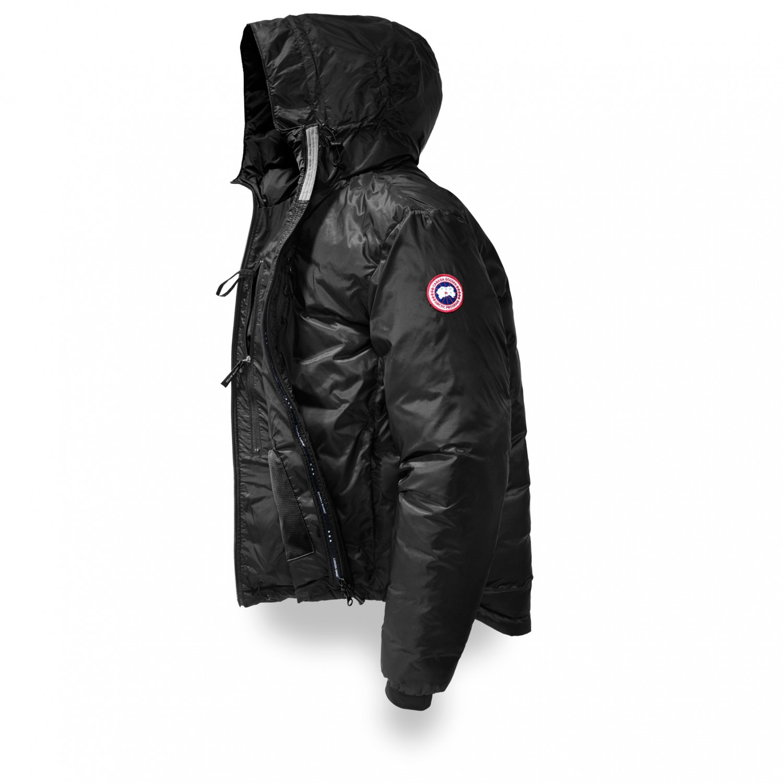 78ea6942997 Canada Goose - Lodge Down Hoody - Down jacket - Red / Black | M