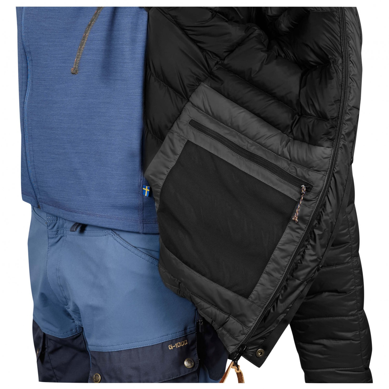Fjällräven Keb Expedition Down Jacket Down jacket Black   S