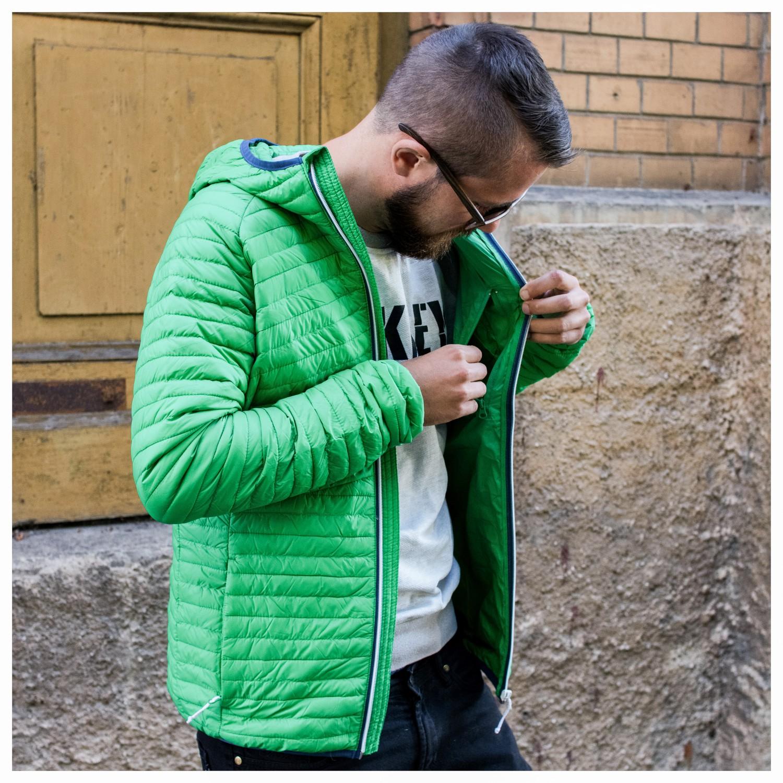 2117 of Sweden Bracco Light Down Jacket with Hood Daunenjacke