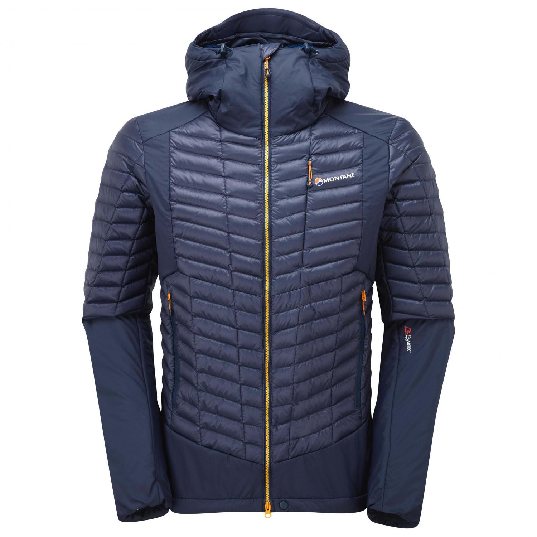 wholesale dealer e4549 bdcc6 Montane - Quattro Fusion Jacket - Giacca in piumino - Antarctic Blue | XL