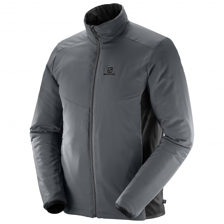 Hombre Sintética Salomon Mid Jacket Chaqueta Drifter De Fibra CvFZBx6qw