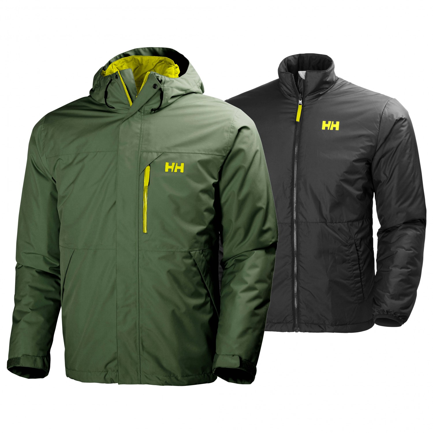 Helly Hansen Squamish CIS Jacket 3 i 1 jakke